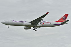 Airbus A330-300 der TransAsia Airways