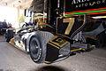 Dallara-Lotus DW12 Dragon-McAffee Racing Sebastien Bourdais TowedToPractice 02 Glamour SPGP 24March2012 (14699715235).jpg