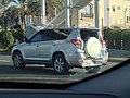 Damaged car on road Dubai 02.jpg