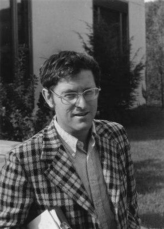 Daniel W. Stroock - Daniel Stroock in 1976 (photo from MFO)