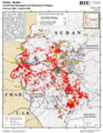 Darfur, Sudan - Confirmed Damaged and Destroyed Villages, February 2003 - August 2009.png
