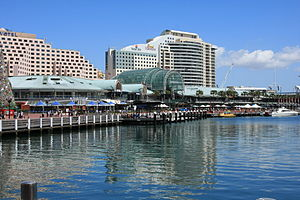 Darling Harbour - Western side of Darling Harbour