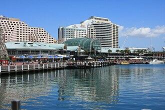 Darling Harbour - Western side of Darling Harbour