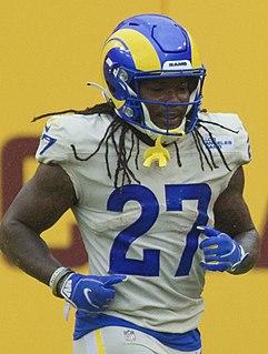 Darrell Henderson American football running back