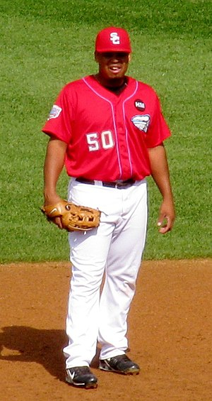 Daryle Ward - Ward playing for the Syracuse Chiefs, September 2009