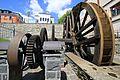 Das Wasserrad der alten Stadtmühle in Lössnitz.. 2H1A3314WI.jpg