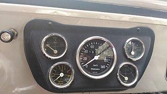Speedometer - Image: Dashboard Speedometers