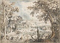 David Vinckboons - Landscape with a Hare Hunt, 1601-1602 - Google Art Project.jpg