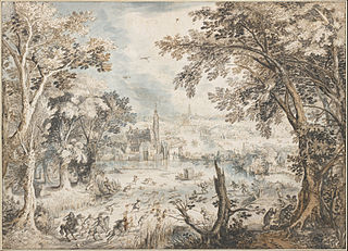 Landscape with a Hare Hunt