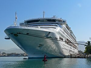 Pacific Explorer - Image: Dawn Princess at Puerto Vallarta 3