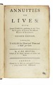 De Moivre - Annuities on lives, 1752 - 133.tif