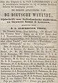 De Tijd no 2346 advertisement De Dietsche Warande.jpg