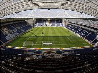 Preston North End F.C. - Deepdale stadium.