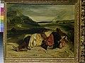 Delacroix - Ein türkischer Offizier, getötet in den Bergen, 1826.jpg