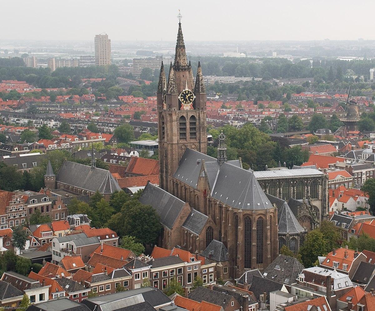 Oude kerk delft wikipedia for Interieur niederlande