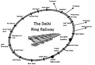 Delhi Suburban Railway - Image: Delhi ring rail