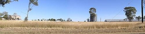 Delungra silos