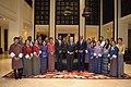 Deputy Secretary Sullivan Poses for a Photo with Staff Members of the Taj Tashi Hotel (48534262887).jpg