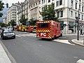 Des pompiers, avenue Berthelot (Lyon), en marge d'une manifestation de gilets jaunes (4).jpg