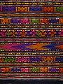 Detail of Tai Lue Weaving - Lanna Folklife Museum - Chiang Mai - Thailand - 02 (35137982155).jpg