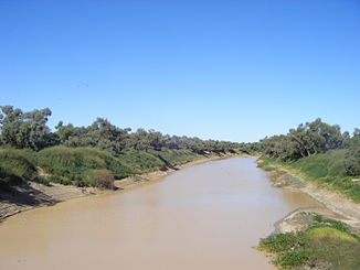Diamantina River bei Birdsville (Queensland)