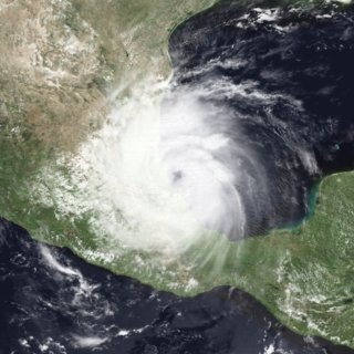 Category 2 Atlantic and Pacific hurricane in 1990