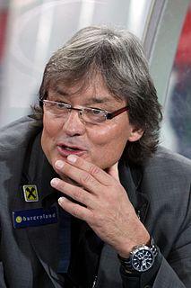 Dietmar Constantini Austrian football manager, former player