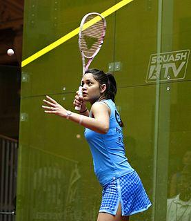 Dipika Pallikal Karthik Indian squash player