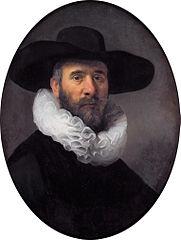 Portrait of Dirck Jansz. Pesser