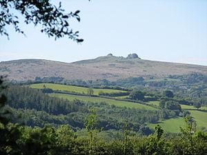 Haytor - Image: Distant view of Haytor