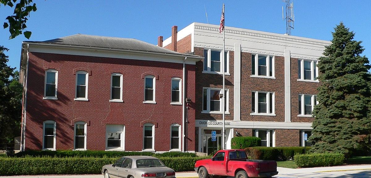 شهرستان دیکسون، نبراسکا ویکی پدیا، دانشنامهٔ آزاد