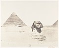 Djîzeh (Nécropole de Memphis), Sphinx et Pyramides MET DP139899.jpg
