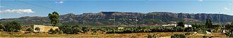 Djebel Serj - Djebel Serj panorama.