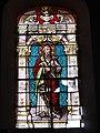 Dohis (Aisne) église, vitrail Saint Pierre.JPG
