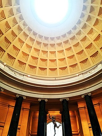 National Gallery of Art - Dome of West Building, an entrance to permanent Renaissance Art collections