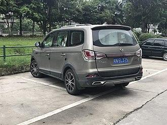 Dongfeng Fengxing SX6 - Dongfeng Fengxing SX6 rear