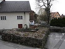 Dornbirn, Oberdorfer Turm Grundmauer 3.JPG