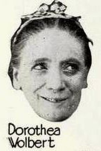 Dorothea Wolbert - Wolbert from an ad for The Flirt (1922)