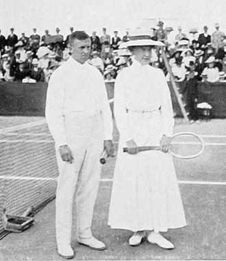 Dorothea Köring - Dorothea Köring and Heinrich Schomburgk at the 1912 Summer Olympics