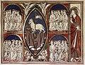 Douce Apocalypse - Bodleian Ms180 - p.012 Lamb enthroned.jpg