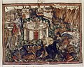 Douce Apocalypse - Bodleian Ms180 - p.088 attack on the Holy City.jpg