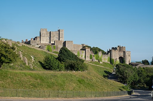 Dover Castle from the north