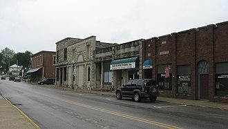 Ellettsville, Indiana - Downtown Ellettsville