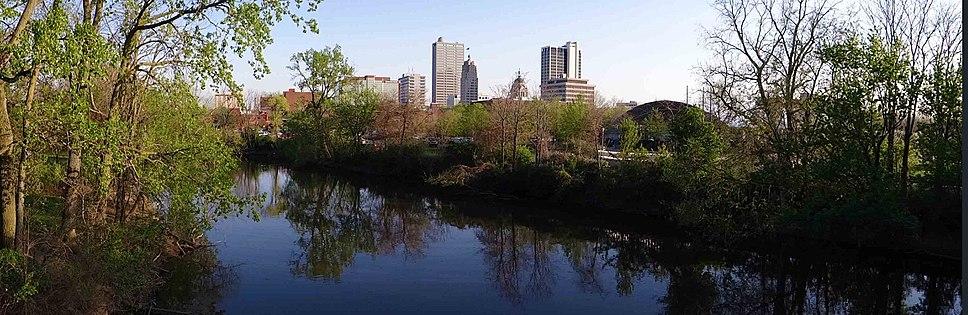 Downtown Fort Wayne Panorama2