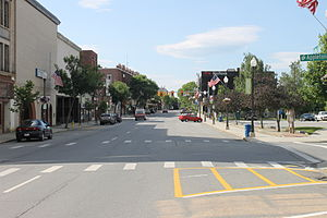 Waterville, Maine - View of downtown Waterville (2014)