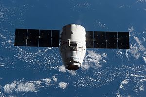 SpaceX CRS-10 - Dragon approaching the ISS on 23 February 2017
