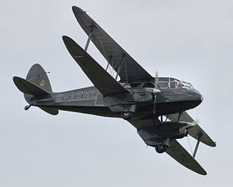 De Havilland Dragon Rapide - Image: Dragon rapide g aeml flying arp