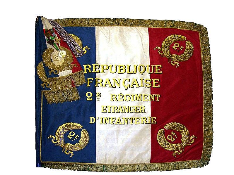 French Foreign Legion 2e REI 799px-Drapeau_2REI_recto