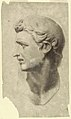 Drawing, Study of a Classical Male Head (from a plaster cast), 1881–92 (CH 18439669-2).jpg