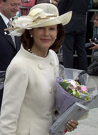 Queen Silvia of Sweden - Queen Silvia in Oslo during the celebration of the 100th anniversary of the dissolution of the union between Norway and Sweden